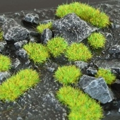 Gamers Grass Bright Green 2mm Tufts Wild