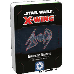 (Preorder) Star Wars X-Wing 2nd Edition Galactic Empire Damage Deck
