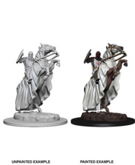 Deep Cuts Unpainted Miniatures Knight on Horse
