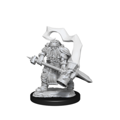 D&D Nolzurs Marvelous Unpainted Miniatures Dwarf Cleric Male