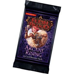 Flesh and Blood TCG Arcane Rising UNLIMITED Booster Pack