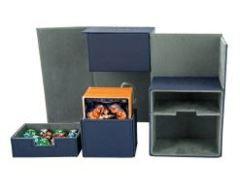 Flip´n´Tray Deck Case 160+ Standard Size XenoSkin Blue Deck Box
