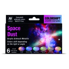 Vallejo 77091 Eccentric Colorshift Space Dust (6 Colour Set) Acrylic Airbrush Paint