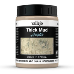 26810 Diorama Effects Light Brown Thick Mud 200ml