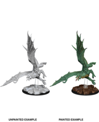 Nolzurs Marvelous Unpainted Miniatures Young Green Dragon