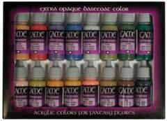 Game Colour Extra Opaque 16 Colour Set Acrylic Paint Vallejo 72290