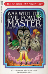 Choose your Own Adventure - War with the Evil Power Master Expansion