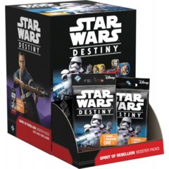 2. Star Wars Destiny Spirit of Rebellion Booster Box