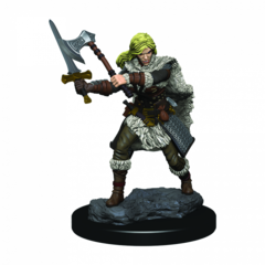 D&D Premium Painted Figures Human Female Barbarian