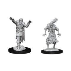 Nolzurs Marvelous Unpainted Miniatures Scarecrow & Stone Cursed
