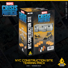 Marvel Crisis Protocol Miniatures Game NYC Construction Site Terrain