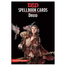 D&D Spellbook Cards Druid Deck