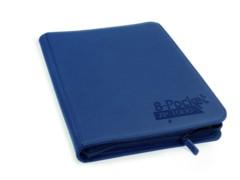 Folder Ultimate Guard 8-Pocket ZipFolio XenoSkin Dark Blue