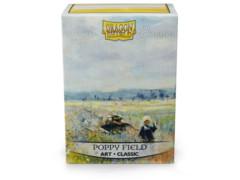 Dragon Shield - Box 100  Poppy field