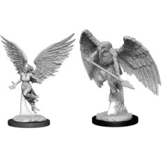D&D Nolzurs Marvelous Unpainted Miniatures Harpy and Arakocra