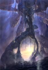 Zendikar Swamp A1 Art Print