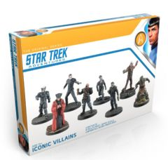 Skip to the beginning of the images gallery Star Trek Adventures Iconic Villains Box Set