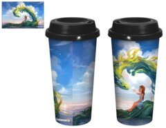 Kelpie With Girl 20 oz Tumbler