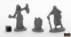 Dreadmere Townsfolk: Fishwife & Crone (2) 44033