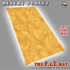 6x3 'Desert Planet' F.A.T. Mat Gaming Mat