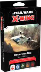 (Preorder) Star Wars X-Wing 2nd Edition Hotshots and Aces Reinforcements Pack