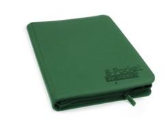 Folder Ultimate Guard 8-Pocket ZipFolio XenoSkin Green