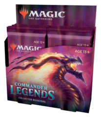 Commander Legends COLLECTOR Booster Box (RESTOCKED COMING LATE JANUARY)