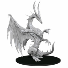 Pathfinder Deepcuts Unpainted Miniatures Blue Dragon
