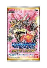 Digimon Card Game Series 04 Great Legend BT04 Booster PACK