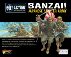 Bolt Action Banzai Japanese Starter Army