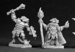 03024: Kobold Leader and Sorcerer