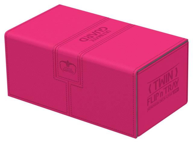 XENOSKIN DECK CASE Standard Card Box ULTIMATE GUARD TWIN FLIP n TRAY AMBER 160