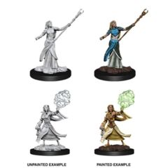 Nolzurs Marvelous Unpainted Miniatures Female Elf Sorcerer