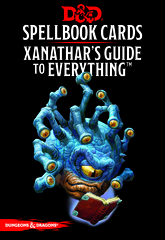 Dungeons and Dragons 5th Edition RPG: Spellbook Cards - Xanathar's Guide