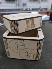 TGG Custom Wood Deck Box