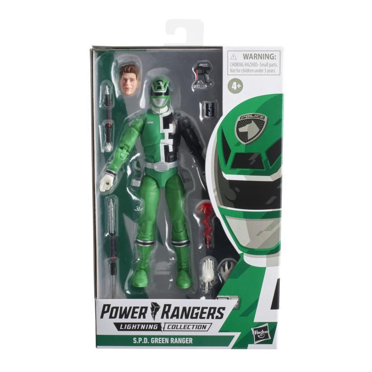 Power Rangers Lightning Collection S.P.D. Green Ranger