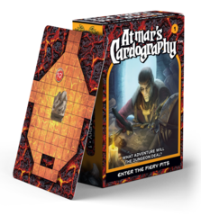 Atmars Cardography - Enter the Fiery Pits