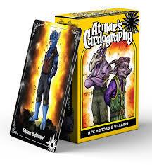 Atmars Cardography -  NPC Heroes and Villains
