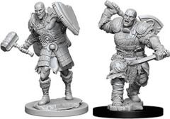 D&D Unpainted Minis - Male Goliath Fighter