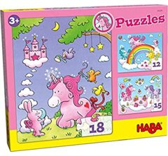 Unicorn Glitterluck Puzzle Multipack
