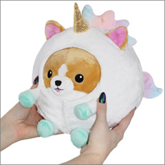 Undercover Squishable Corgi in Unicorn Disguise