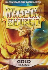 Dragon Shield Box of 100 in Classic Gold