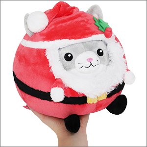 Undercover Squishable Kitty in Santa Disguise
