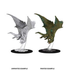 Nolzurs Marvelous Unpainted Miniatures - Young Green Dragon