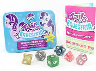My Little Pony: Tails of Equestria Pegasus Pony Dice Set