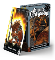 Atmars Cardography - Random monster Deck