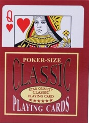 Poker-Size Classic Playing Cards