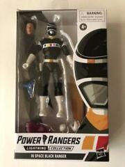 Power Rangers Lightning Collection In Space Black Ranger