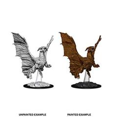 Nolzurs Marvelous Unpainted Miniatures - Young Copper Dragon