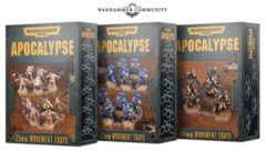 Apocalypse - 40mm Movement Trays